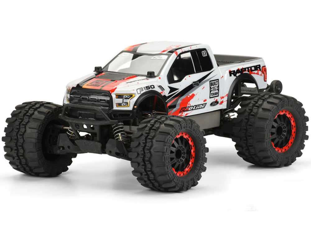 Pro-Line 2017 Ford F-150 Raptor Clear Body PL3470-00