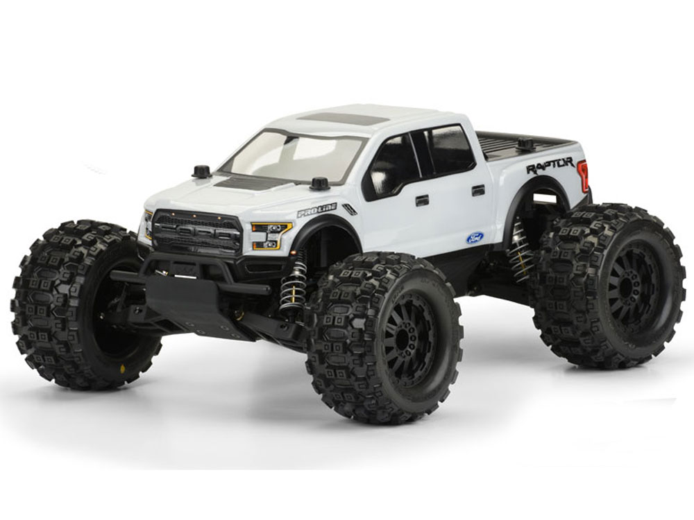 Pro-Line 2017 Ford F-150 Raptor Clear Body for Pro-MT PL3471-00
