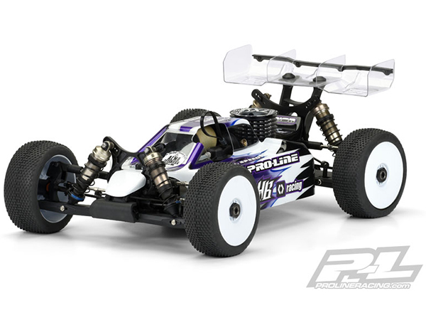 Pro-Line Predator Clear Body for D815 PL3474-00