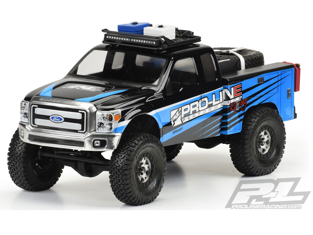 Pro-Line Utility Bed Clear Body for Honcho Style Crawlers Cabs PL3484-00