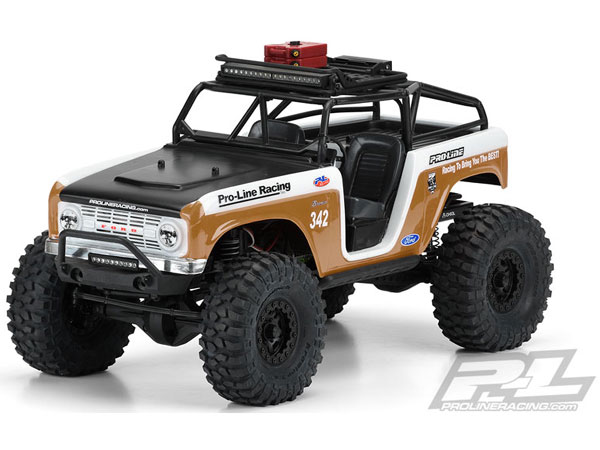 ../_images/products/small/Pro-Line 1966 Ford Bronco Clear Body with Ridge-Line Trail Cage