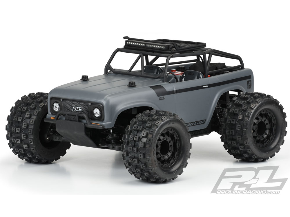 ../_images/products/small/Pro-Line Ambush Clear Body with Ridgeline Trail Cage