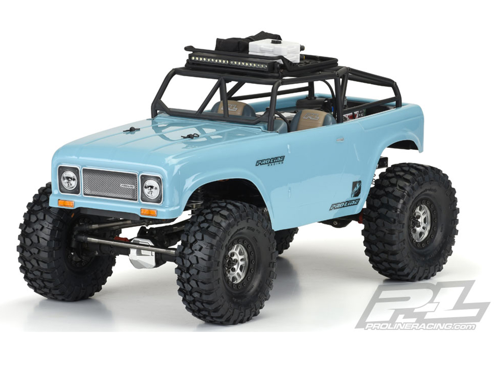 ../_images/products/small/Pro-Line Ambush Clear Body with Ridgeline Trail Cage 313mm Wheel Base