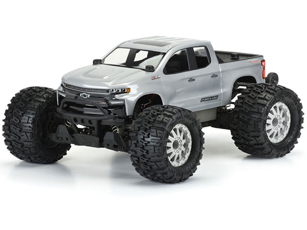 ../_images/products/small/Pro-Line 2019 Chevy Silverado Z71 Trail Boss Clear Body 1/10th