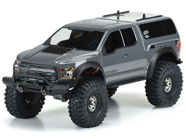 ../_images/products/small/Pro-Line 2017 Ford F-150 Raptor Clear Body for 12.8in Wheelbase TRX-4