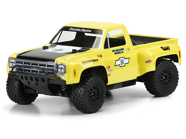 ../_images/products/small/Pro-Line 1978 Chevy C-10 Race Truck Clear Body for Slash/SC10