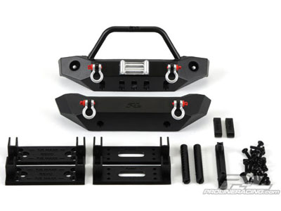 Pro-Line Ridge-Line Bumper (Narrow) Set For Narrow Rock Crawling and Monster Truck Bodies PL6088-00