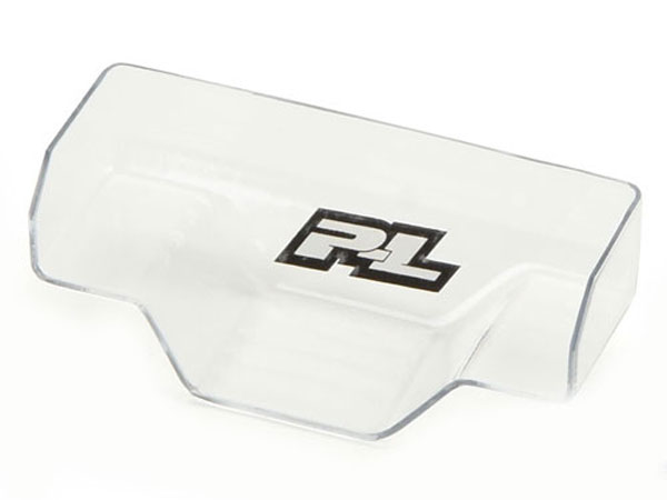 Pro-Line Clear Front Wing/Black Anodised Mount - Yokomo YZ-2 PL6284-01