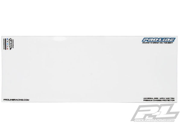 Pro-Line Universal Clear Chassis Protector for 1:10 Buggy and 1:10 Truck PL6309-00