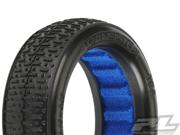 Pro-Line Transistor VTR 2.4'' 2WD X2 (Medium) Off-Road Buggy Front Tyres PL8233-002