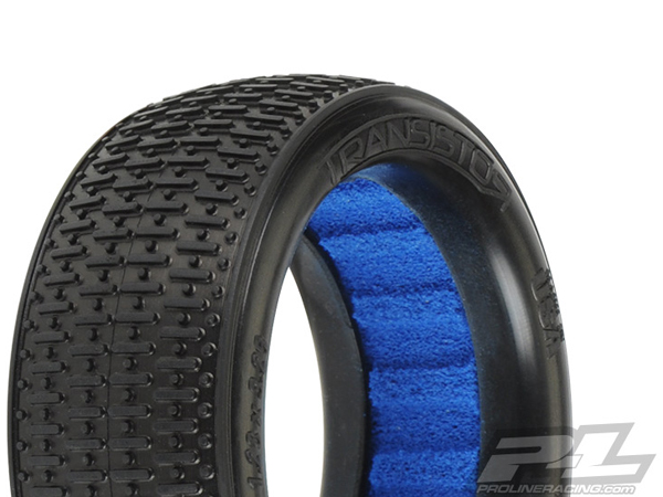 Pro-Line Transistor VTR 2.4'' 4WD X2 (Medium) Off-Road Buggy Front Tyres PL8234-002