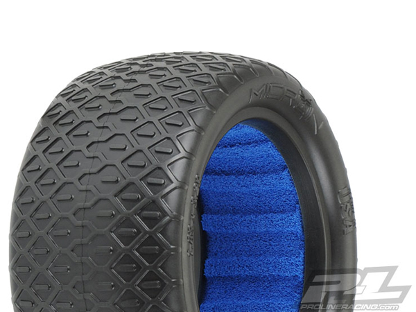 Pro-Line Micron 2.2 MC (Clay) Off-Road Buggy Rear Tires PL8249-17