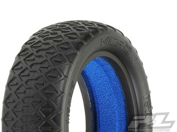 Pro-Line Micron 2.2 2WD MC (Clay) Off-Road Buggy Front Tyres PL8250-17
