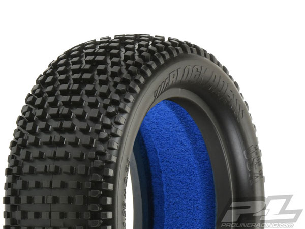 Pro-Line Blockade 2.2 4WD M3 (Soft) Off-Road Buggy Front Tyres PL8252-02