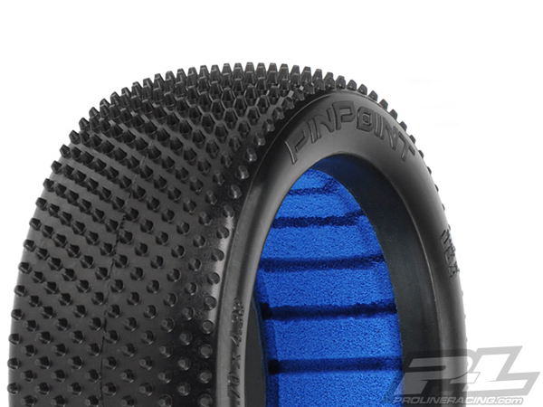 Pro-Line Pin Point Z3 (Medium Carpet) Off-Road 1:8 Buggy Tyres w/ Inserts PL9050-103