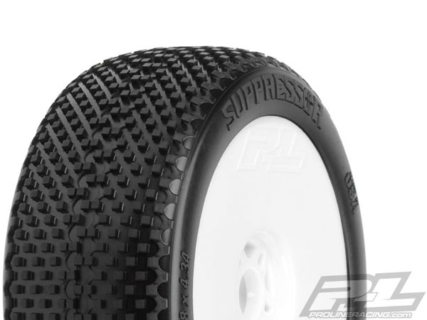 Pro-Line Suppressor X2 (Medium) Off-Road 1:8 Buggy Tyres Mounted PL9054-032
