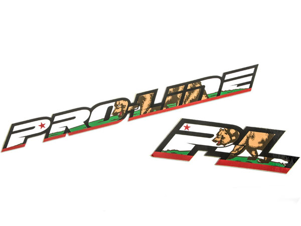 Pro-Line California Pride Decals PL9507-01