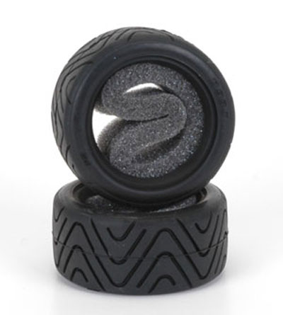 Schumacher Shimizu Treaded Tyres (pr) for Tamiya Mini - Medium PS-SM-G