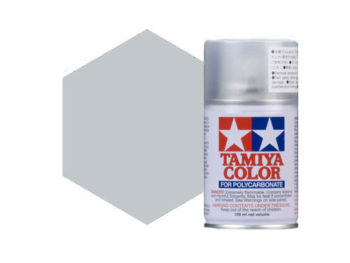 Tamiya PS-12 Silver Polycarbonate Spray 86012