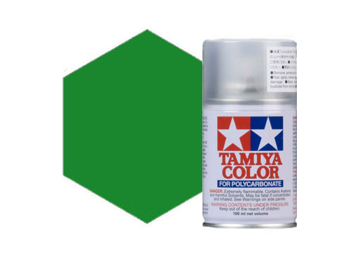 Tamiya PS-17 Metallic Green Polycarbonate Spray 86017