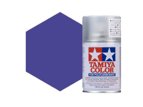 Tamiya PS-18 Metallic Purple Polycarbonate Spray 86018