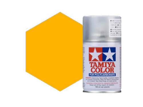 Image Of Tamiya PS-19 Camel Yellow Polycarbonate Spray
