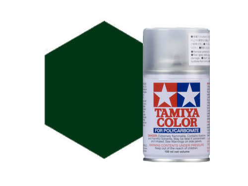Tamiya PS-22 Racing Green Polycarbonate Spray 86022