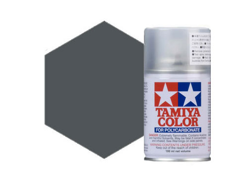 Tamiya PS-23 Gun Metal Polycarbonate Spray 86023