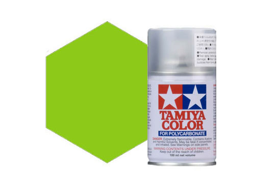 Image Of Tamiya PS-28 Flourescent Green Polycarbonate Spray