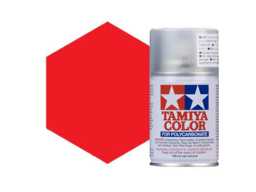 Image Of Tamiya PS-2 Red Polycarbonate Spray