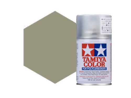 Image Of Tamiya PS-31 Smoke Polycarbonate Spray