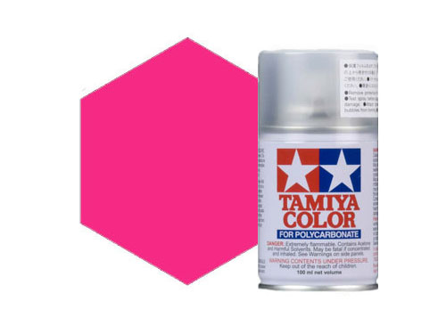 Tamiya PS-40 Translucent Pink Polycarbonate Spray 86040