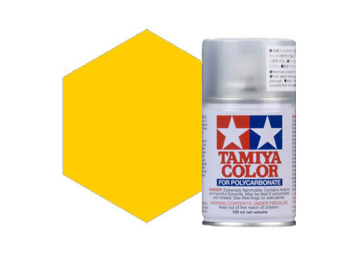 Tamiya PS-42 Translucent Yellow Polycarbonate Spray 86042