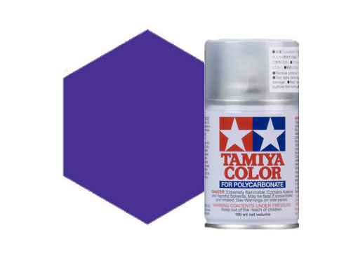 Tamiya PS-45 Translucent Purple Polycarbonate Spray 86045