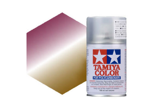 Tamiya PS-47 Iridescent Pink Gold Polycarbonate Spray 86047