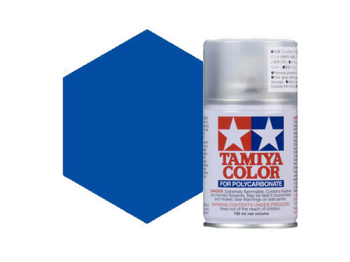 Image Of Tamiya PS-4 Blue Polycarbonate Spray