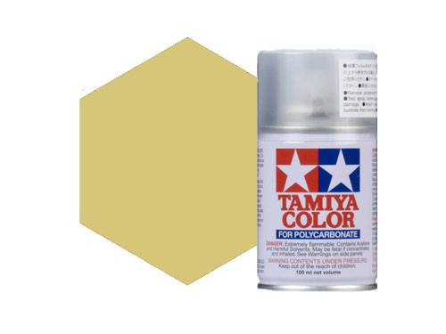 Tamiya PS-52 Champagne Gold Anodized Aluminium Polycarbonate Spray 86052