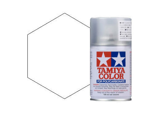 Image Of Tamiya PS-55 Flat Clear Polycarbonate Spray