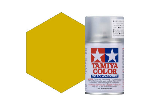 Tamiya PS-56 Mustard Yellow Polycarbonate Spray 86056