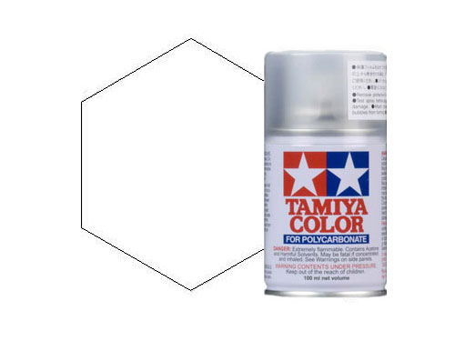 Image Of Tamiya PS-57 Pearl White Polycarbonate Spray