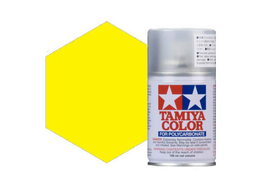 Image Of Tamiya PS-6 Yellow Polycarbonate Spray