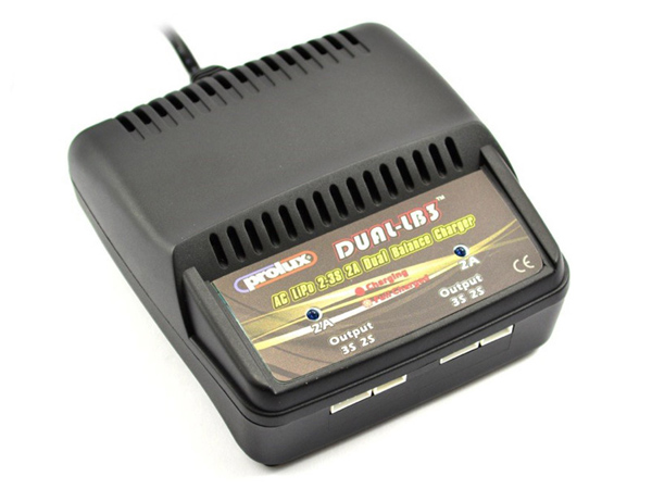 Prolux Dual-LB3 Charger - UK Plug PX3802GB