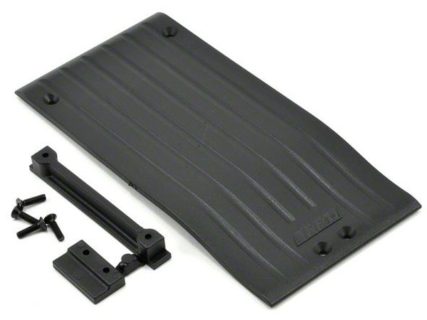 RPM Center Skid/Protector Plate - Black RPM73352
