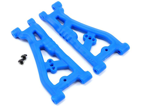 RPM Front A-Arms For The ProLite 4x4/ Thunder Tiger (Blue) RPM73525
