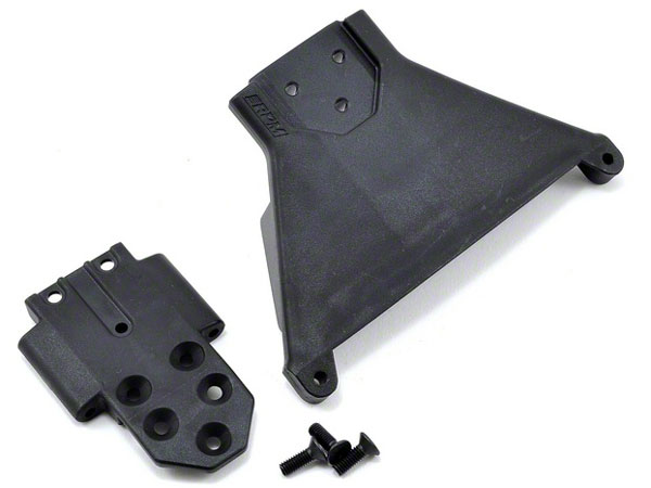 RPM Slash 4x4 & Rally LCG Front Bulkhead - Black RPM73562
