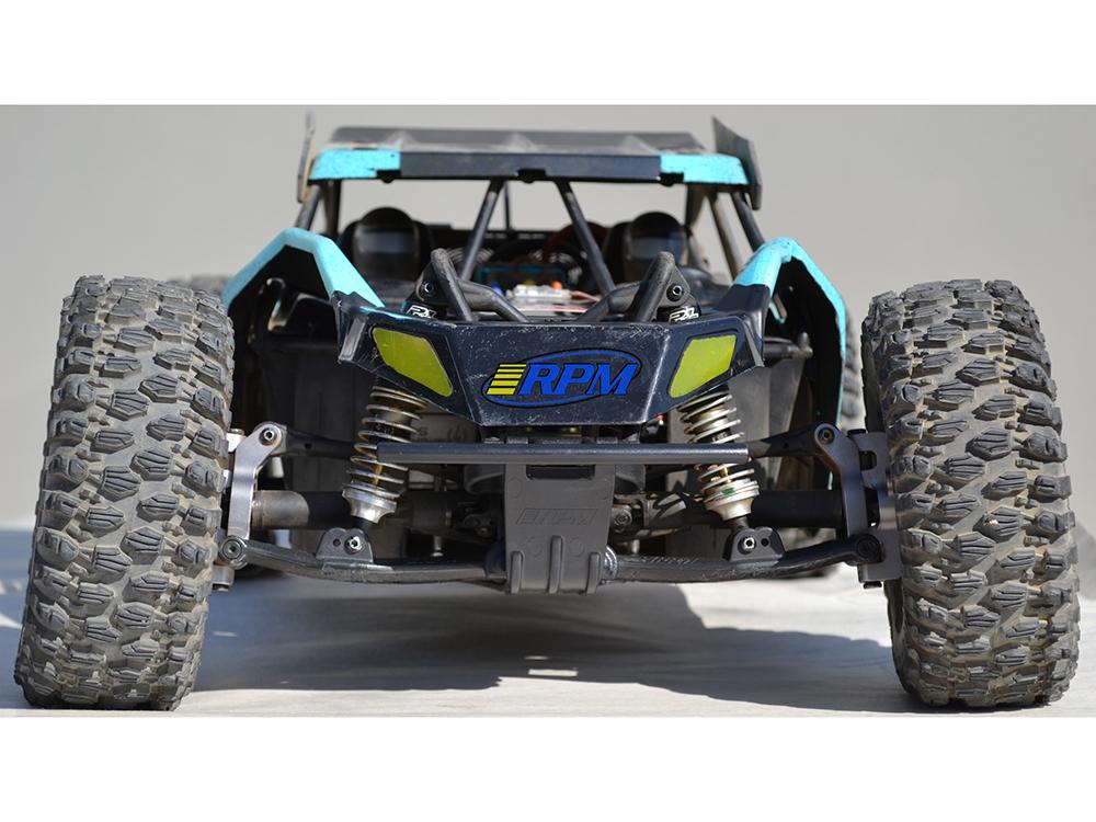 RPM Wide Front Bumper for The Losi Micro-T Black