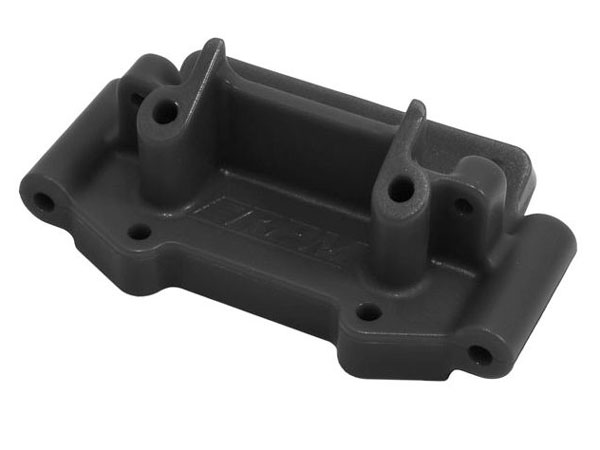 RPM Front Bulkhead for Traxxas 2wd Vehicles - Black RPM73752