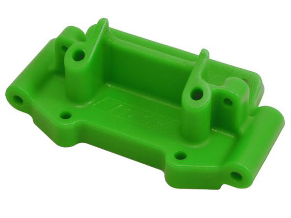 RPM Front Bulkhead for Traxxas 2wd Vehicles - Green RPM73754