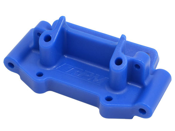 RPM Front Bulkhead for Traxxas 2wd Vehicles - Blue RPM73755