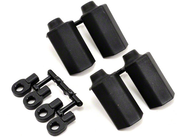 RPM Shock Shaft Guards for Traxxas 1/10th Scale Shocks - Black RPM80402